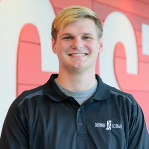 Photograph of NC State Goodnight Scholar Lucas Embry of the class of 2022.