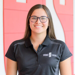 Photograph of NC State Goodnight Scholar Lacey Malinsky of the class of 2022.