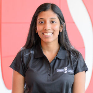 Photograph of NC State Goodnight Scholar Bhairavy Puviindran of the class of 2022.