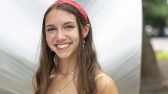 Portrait photo of NC State Goodnight Scholar Nadia Chapple of the class of 2024.